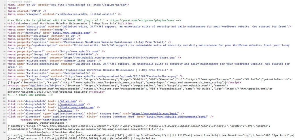 wp-buffs-homepage-source-code