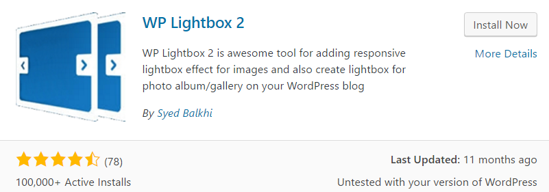 wp lightbox 2 worpress plugin