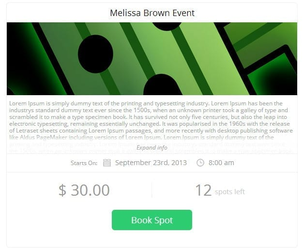 Event Bookings Pro