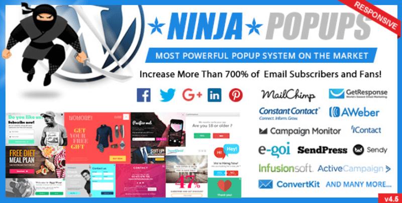 WordPress Coupon Plugins - Ninja Popups