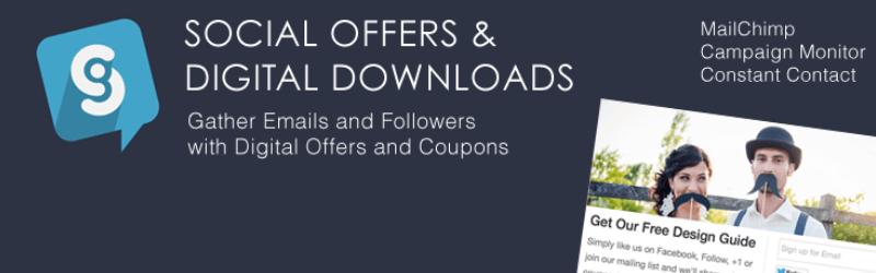 WordPress Coupon Plugins - Social Offers