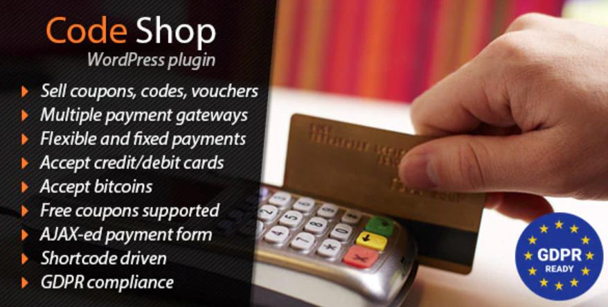 The Code Shop plugin.