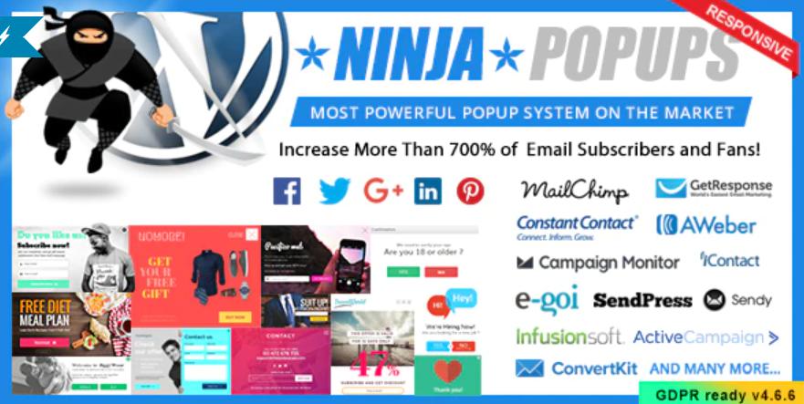 The Ninja Popups plugin.