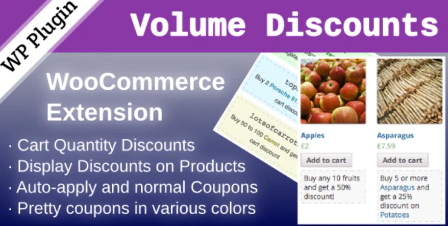 The WooCommerce Volume Discount plugin.