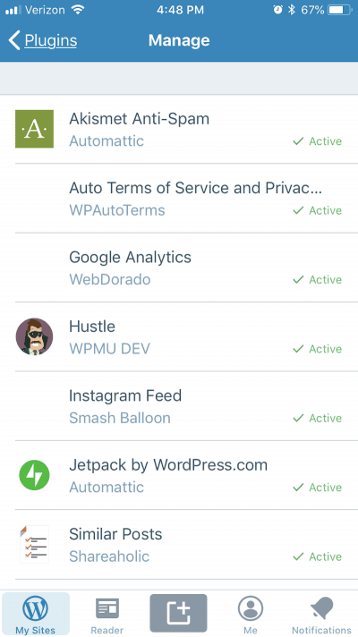 mobile plugins