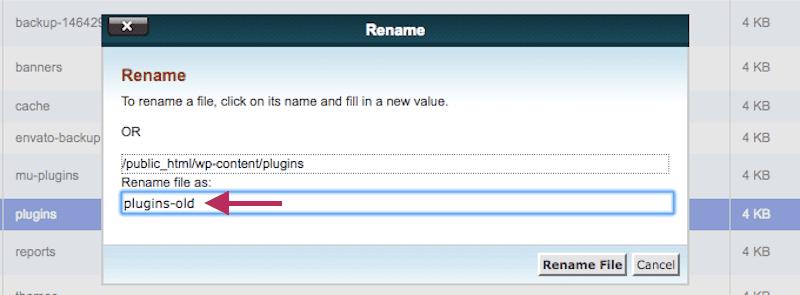 rename plugins