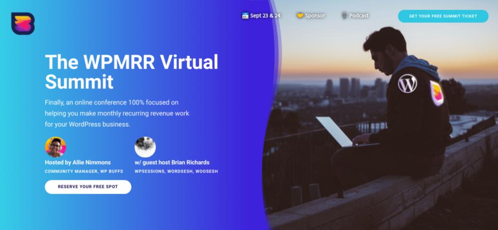 The WPMRR website.