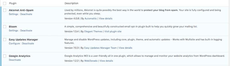 configure easy updates