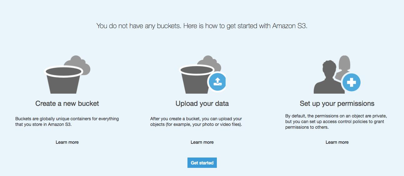 Amazon S3 Instructions