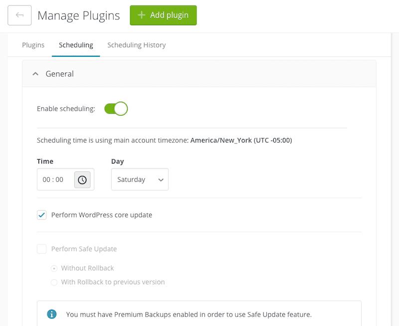 ManageWP Updates