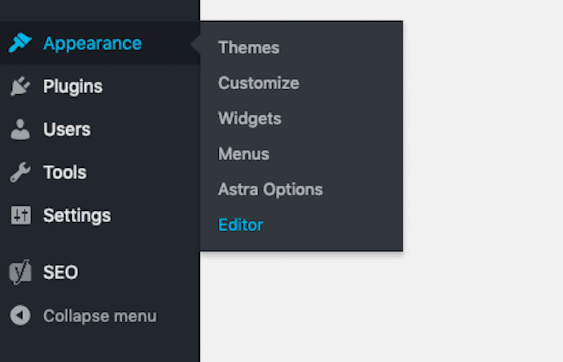 Appearance Editor