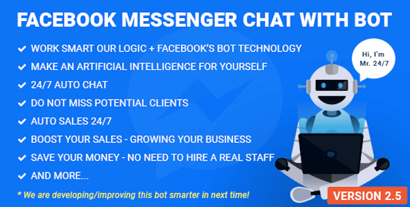 FB Messenger Chat with Bot
