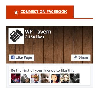 Jetpack Facebook on Tavern