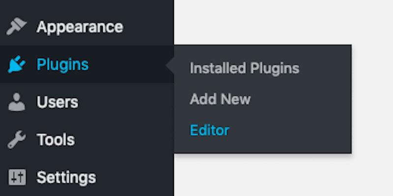 Plugins Editor