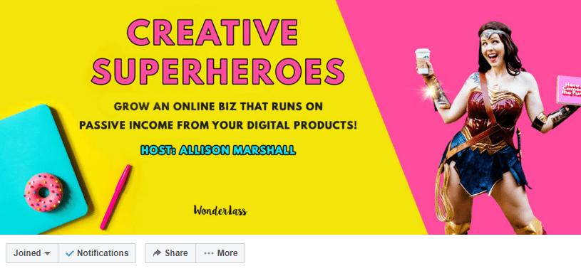 Creative Superheros
