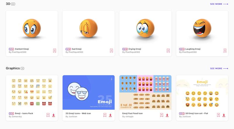 Envato Elements Emojis