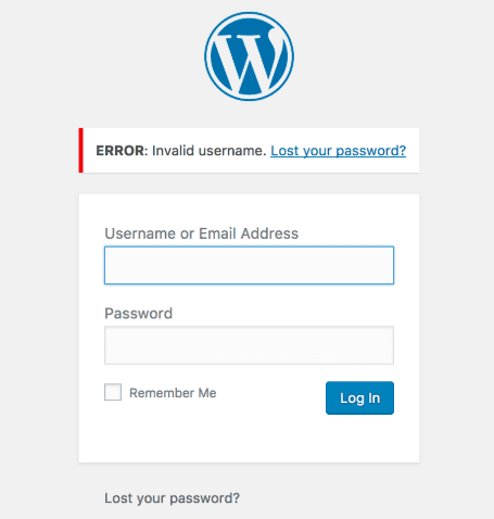 Getting Locked out of WordPress Admin (wp-admin)