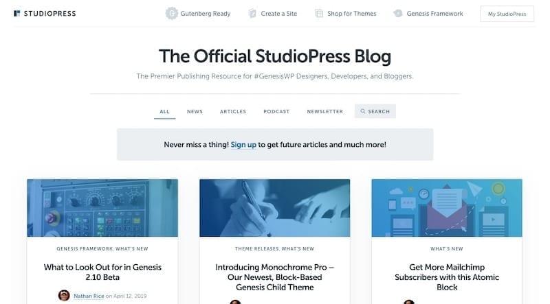 StudioPress Blog