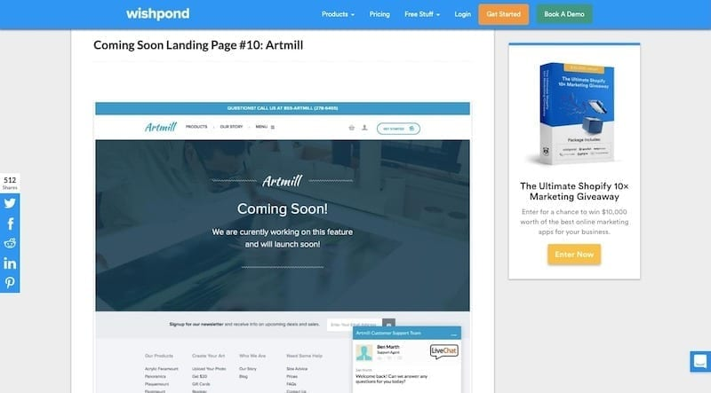 WordPress Coming Soon page Plugins