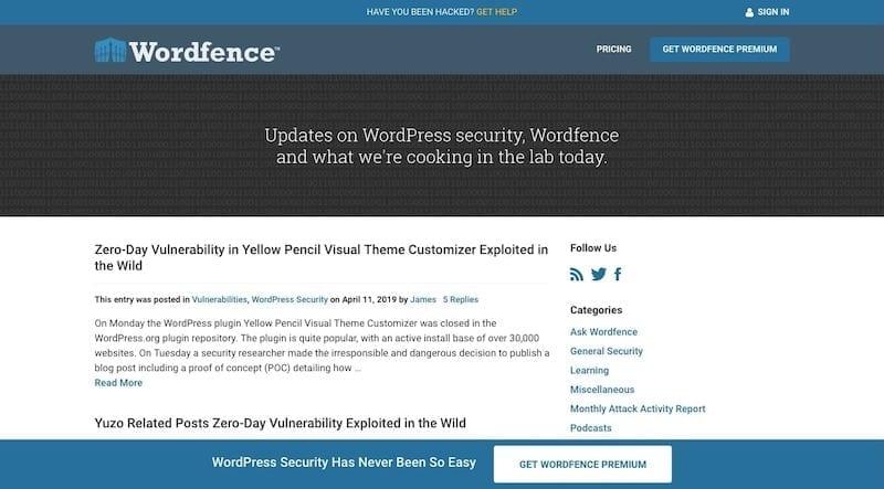Wordfence Blog