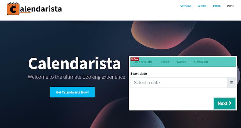 Calderista booking plugins