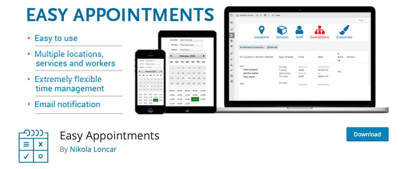 easy appointments wordpress