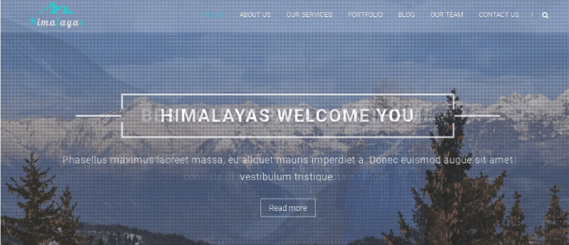 Himalayas theme