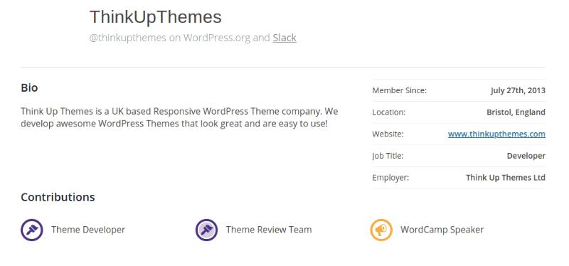 ThinkUpThemes profile