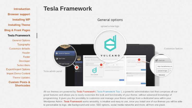 Tesla framework