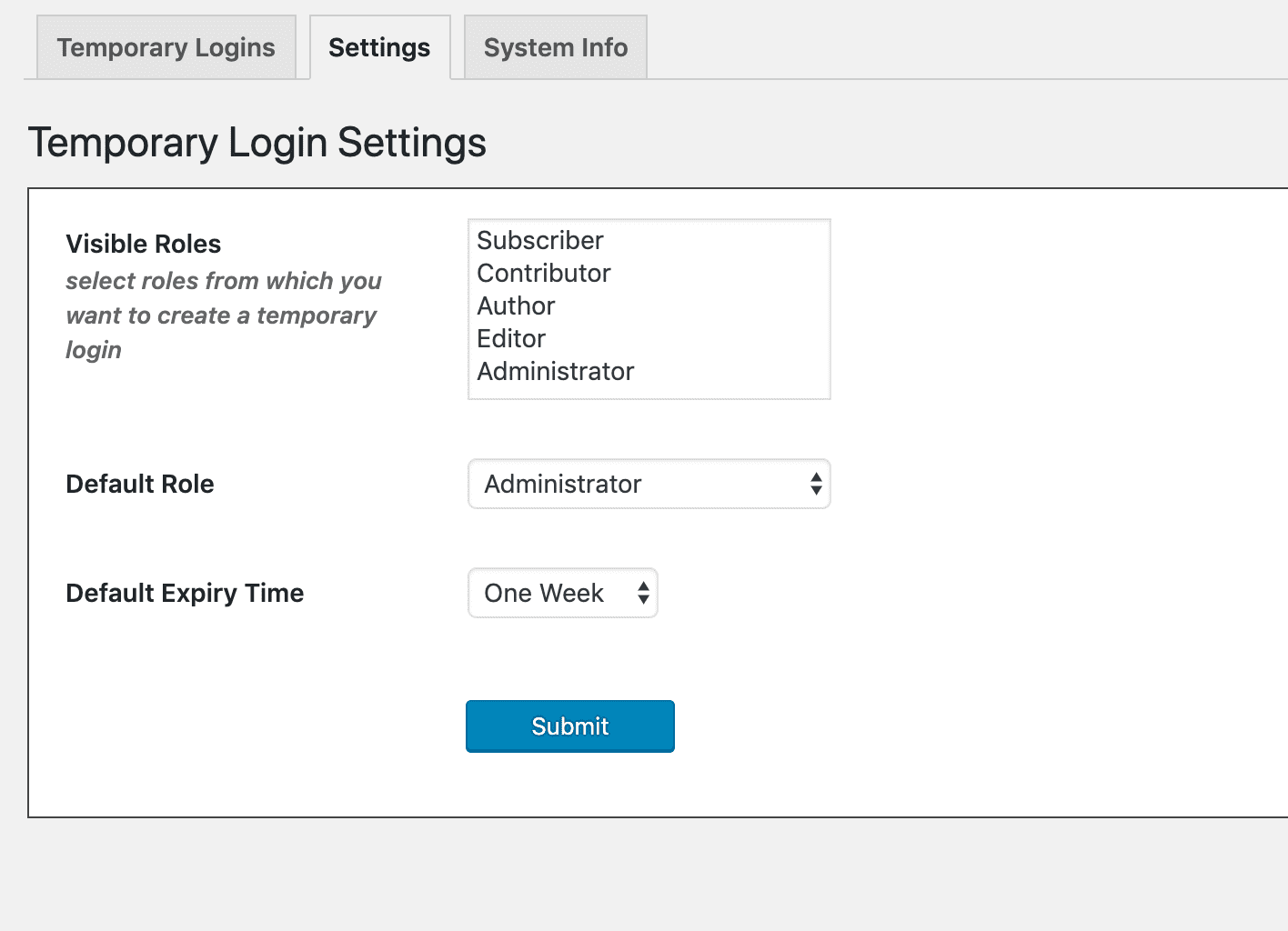 StoreApps plugin settings