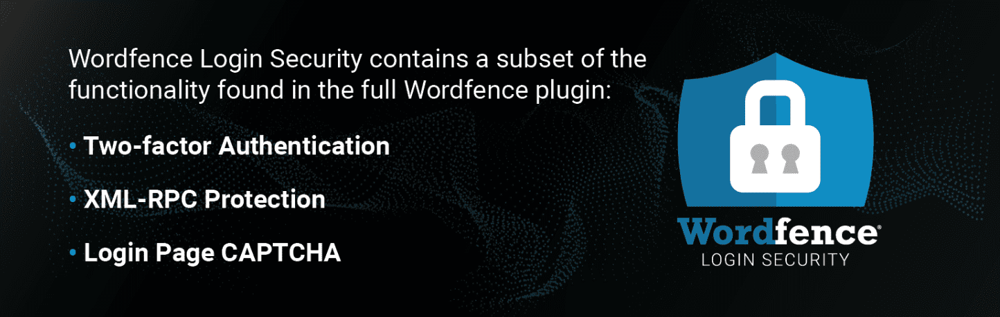 Wordfence Login Security