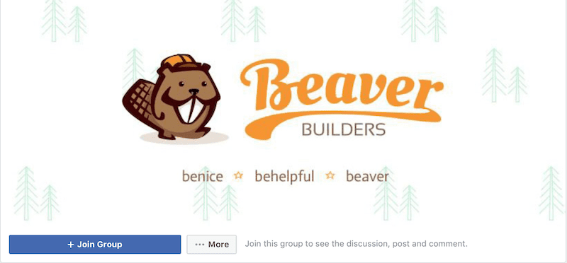 beaver builder facebook group