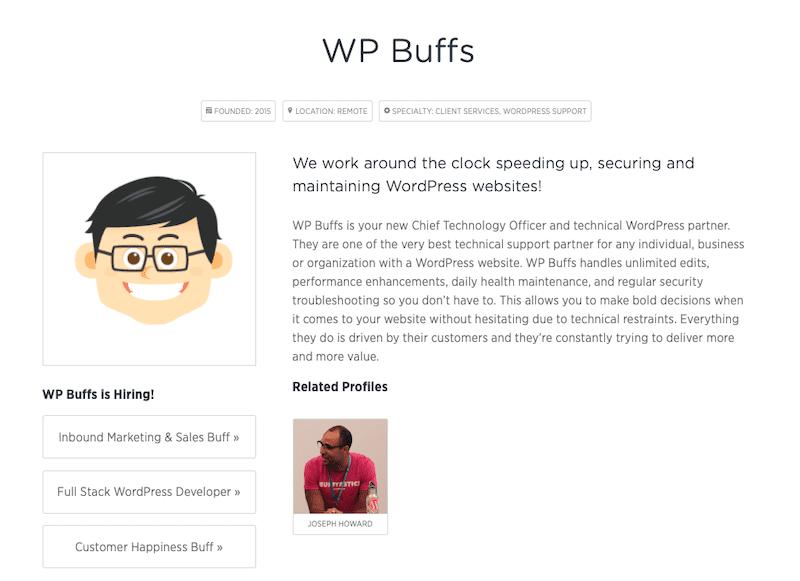 PostStatus Buffs profile