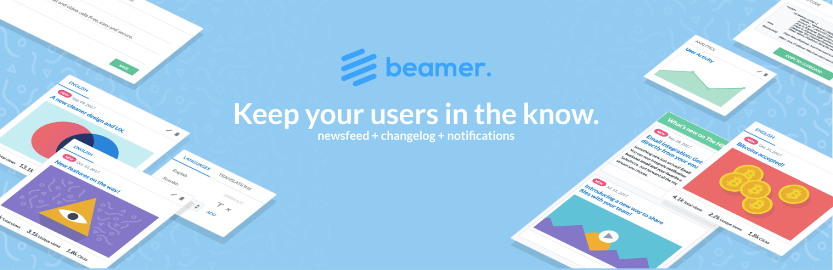 WooCommerce push notifications.