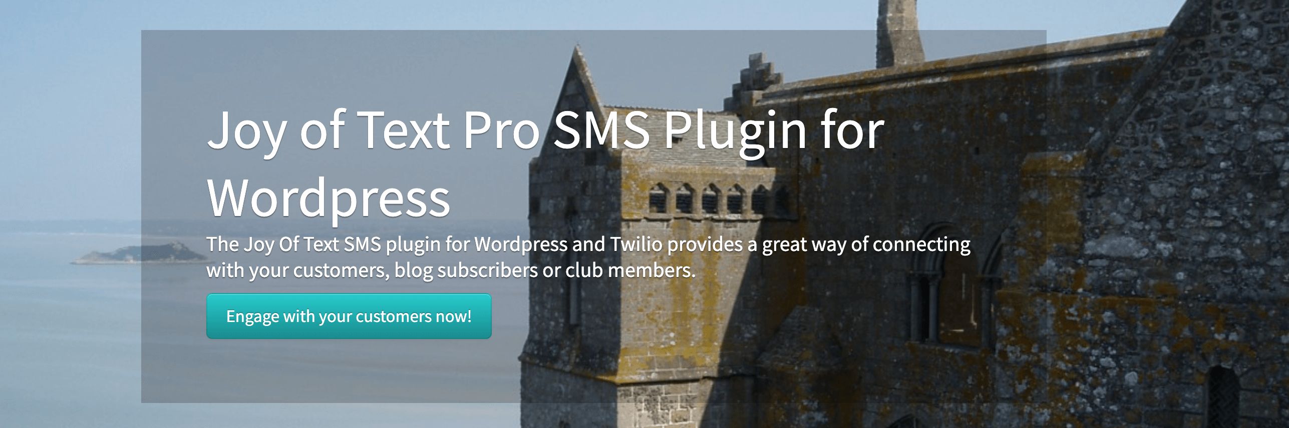WordPress send SMS to subscribers