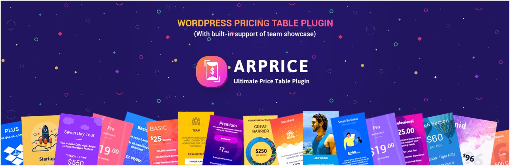 The ARPrice plugin.