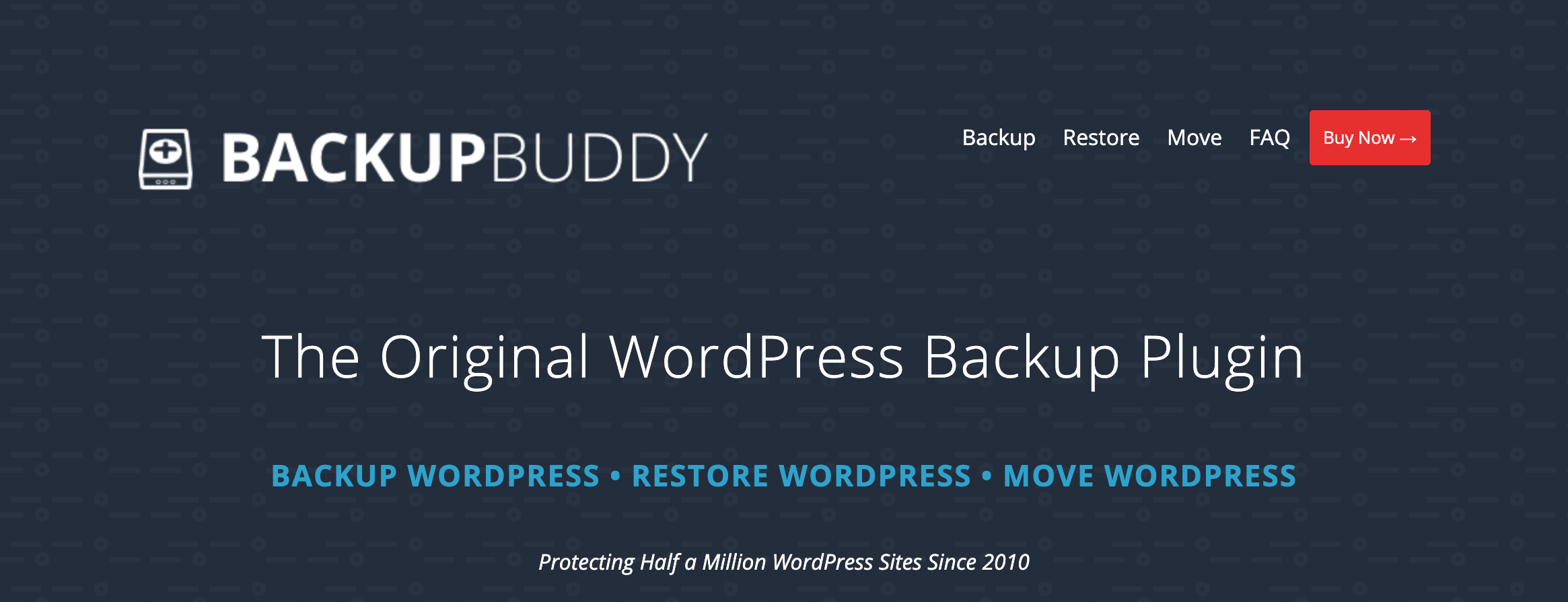 The BackupBuddy plugin.