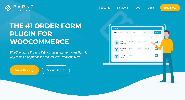 WordPress table generator.