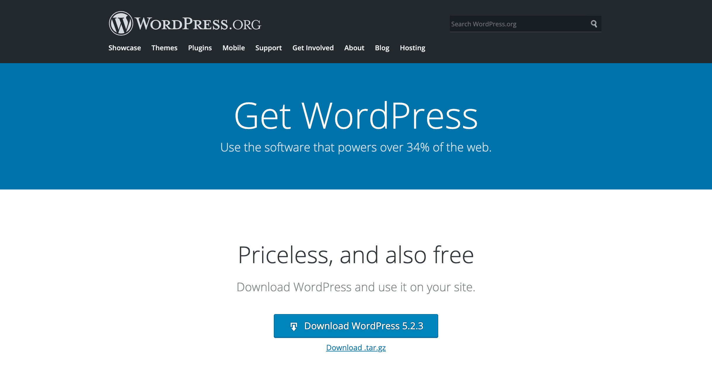 Moving WordPress from staging to live.