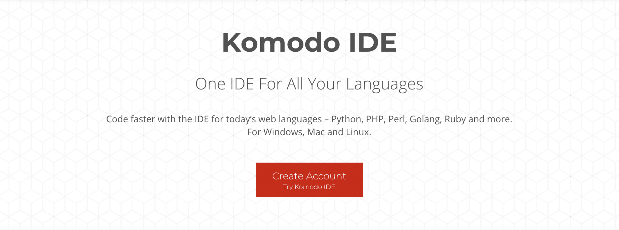 The Komodo IDE by ActiveState.