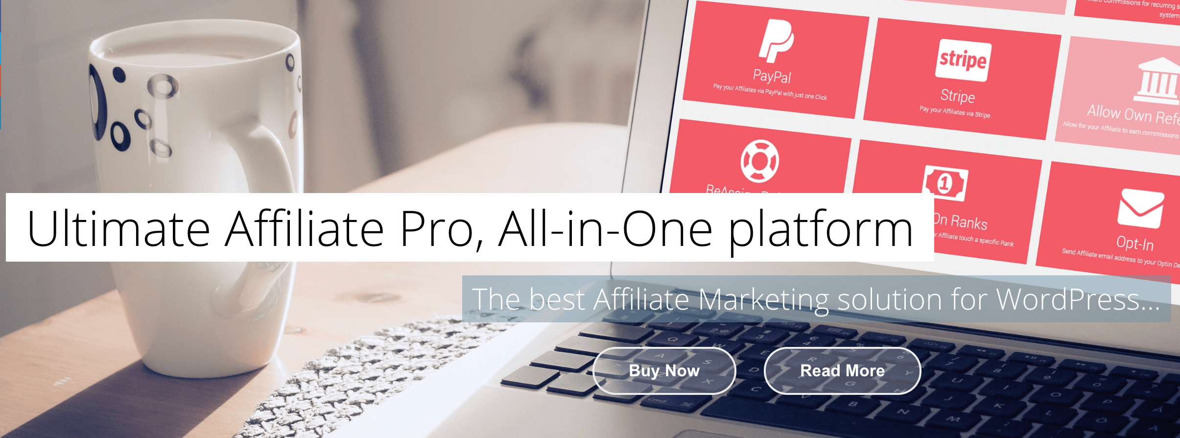 The Ultimate Affiliate Pro plugin.