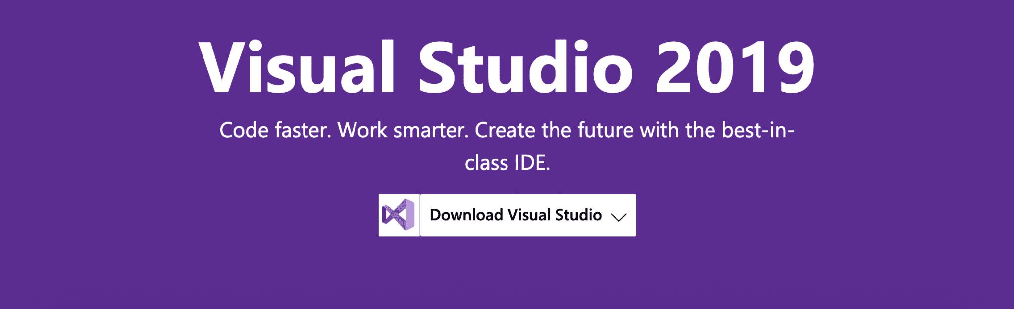 Visual Studio, Microsoft's IDE.