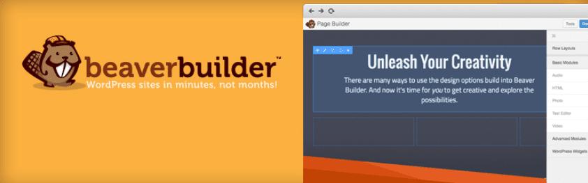 The Beaver Builder WordPress plugin.