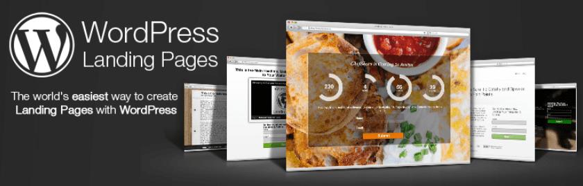 The WordPress Landing Pages plugin.