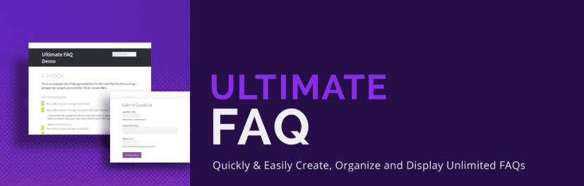 The Ultimate FAQ WordPress plugin.