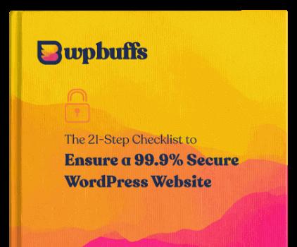 Security checklist eBook cover