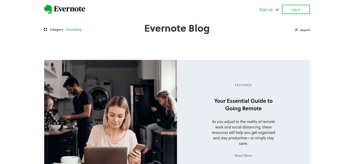 The Evernote Blog.