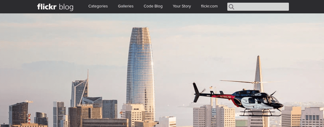 The Flickr WordPress blog.