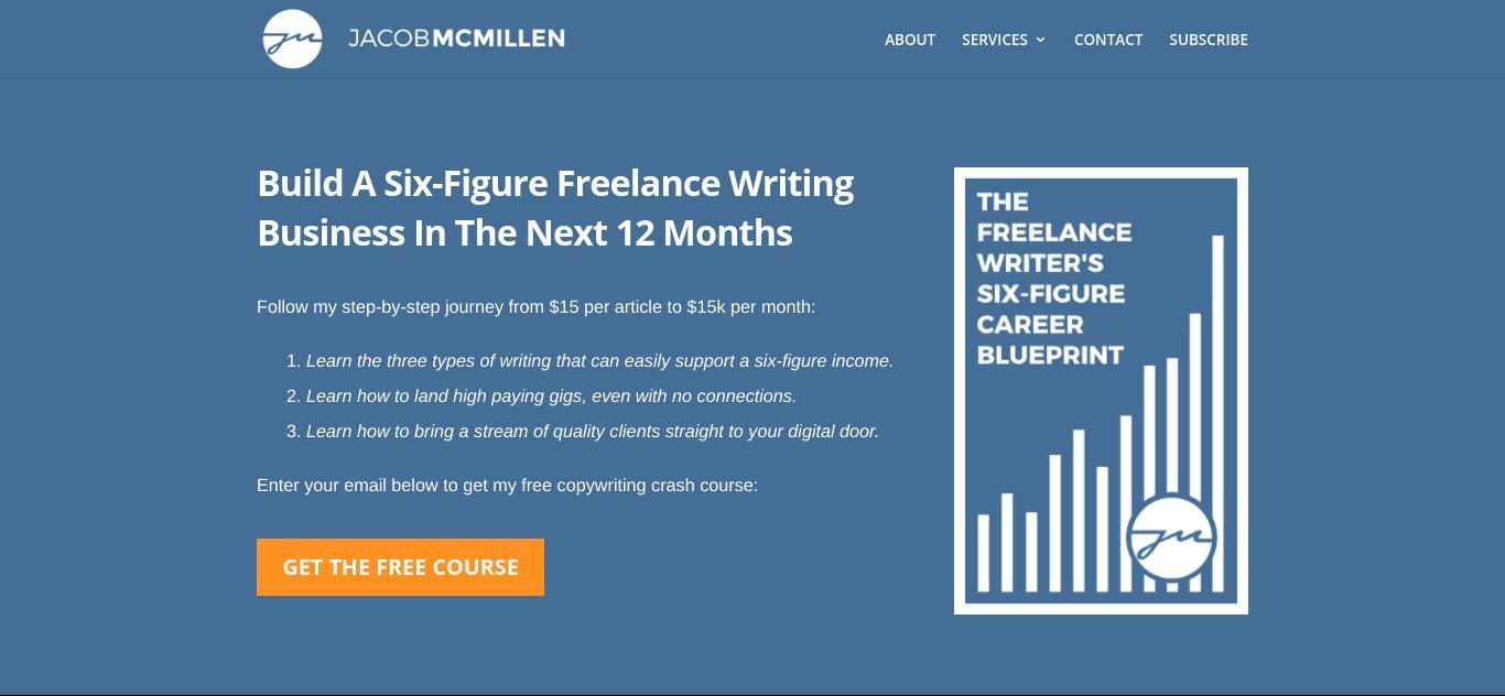 The Jacob McMillen WordPress website.