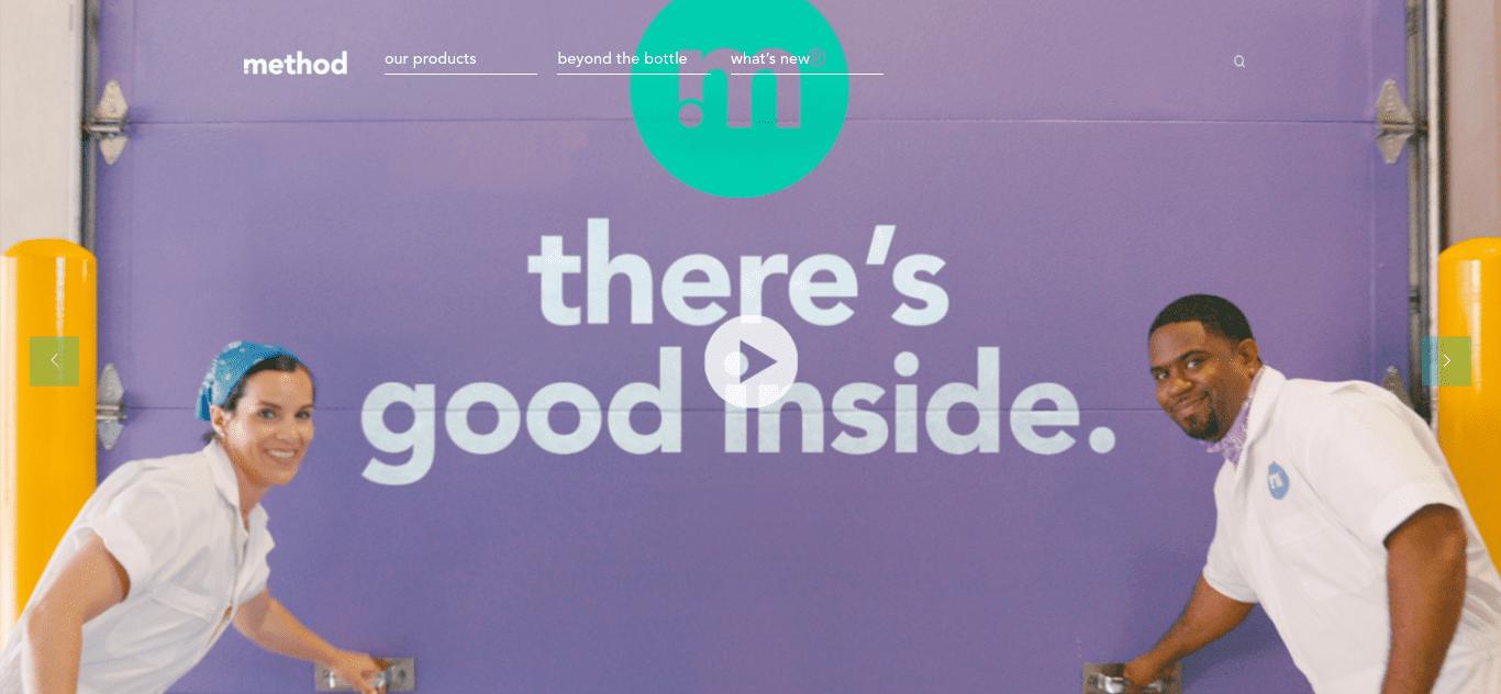 The Method website.